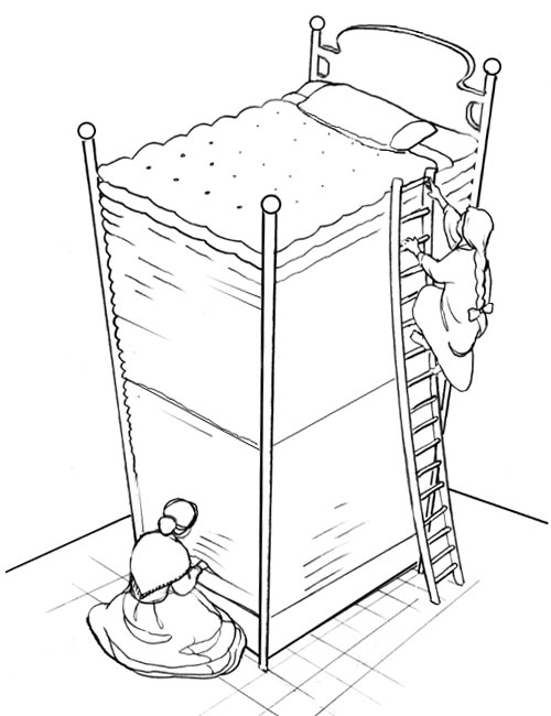 princess and the pea coloring page. this coloring page is provided by kids\u0027 korner network and dmg enterprises princess the pea